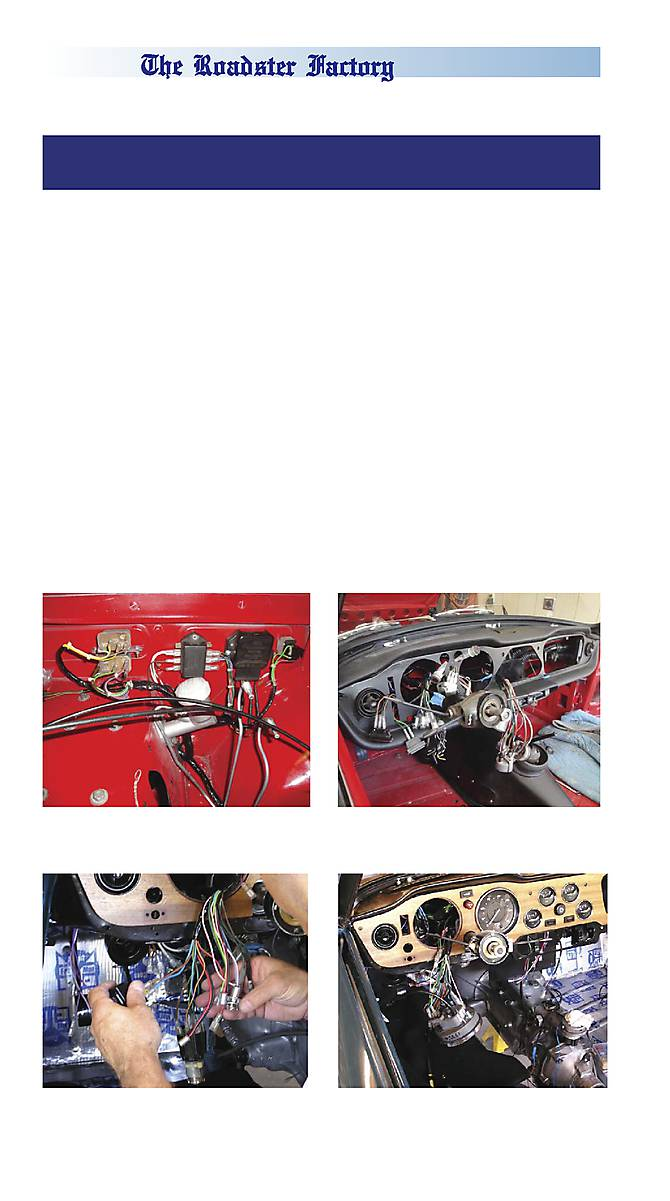 Trf Tr6 Tr250 Parts The Roadster Factory Glovebox Wiring Diagram Scroll To View Page