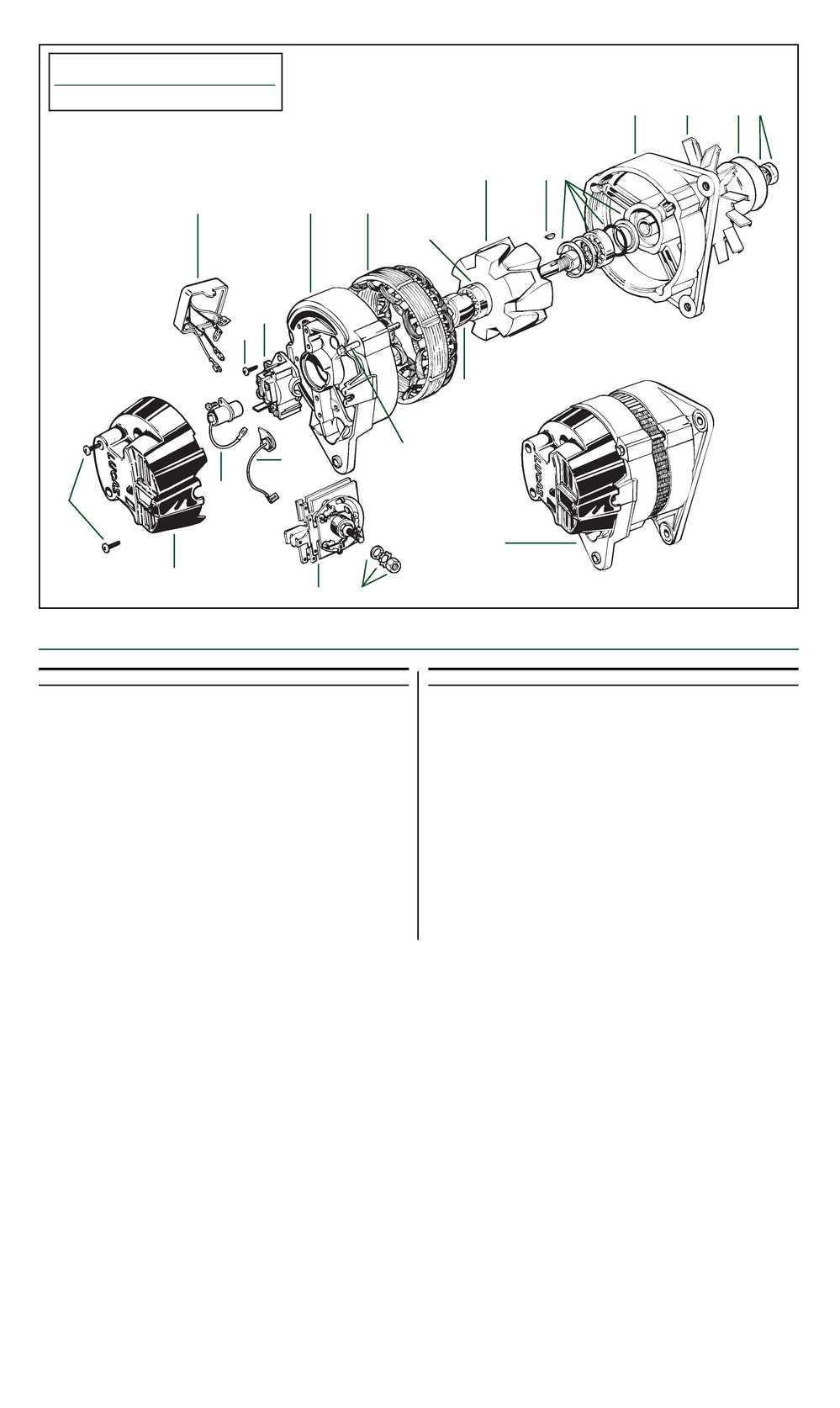 Roadster Factory Lucas Model 16acr Alternators Tr6 Assembly