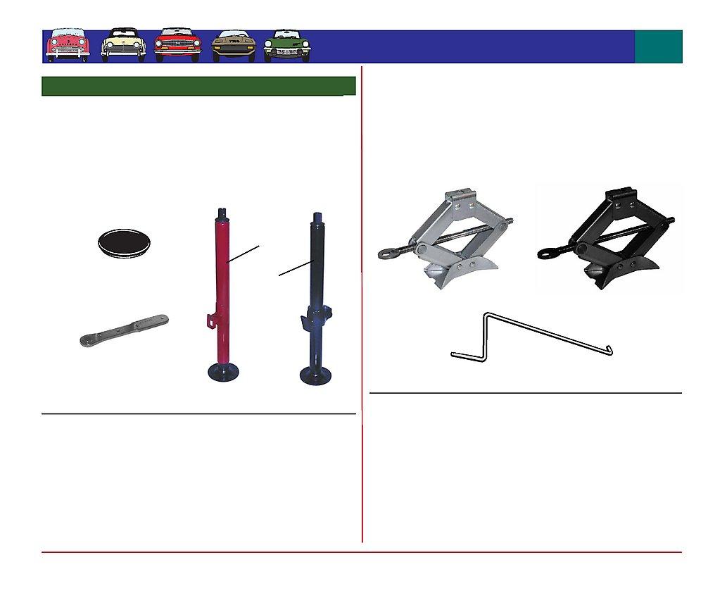 Favourite Parts For Triumph Lifting Jacks Tr2 Tr3 Tr4 Lifting